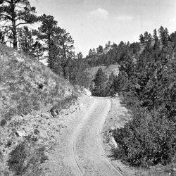 Monroe Canyon road